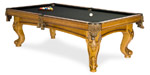 Majestic Oak quality pool table model available from Pool Tables Canada